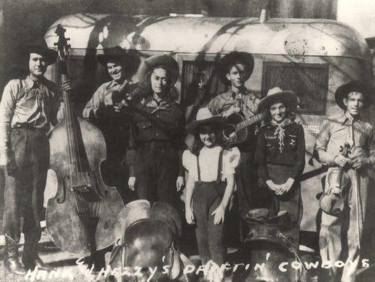 Hank & Hezzy's Driftin' Cowboys, from left, are Smith