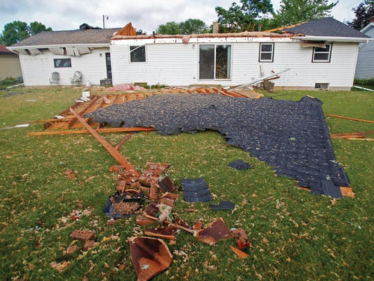 An August 2013 storm caused about $36 million in damage as it passed through the area.