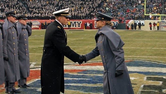 Army and Navy will face each other for the 119th time Saturday.