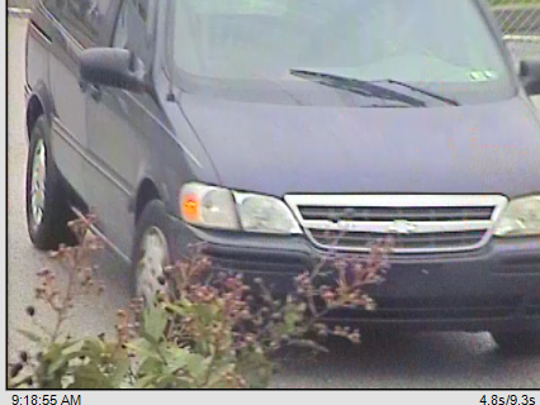 Police say a man robbed a bank in Hanover and fled in a van on Monday morning. Photo courtesy Hanover Police.