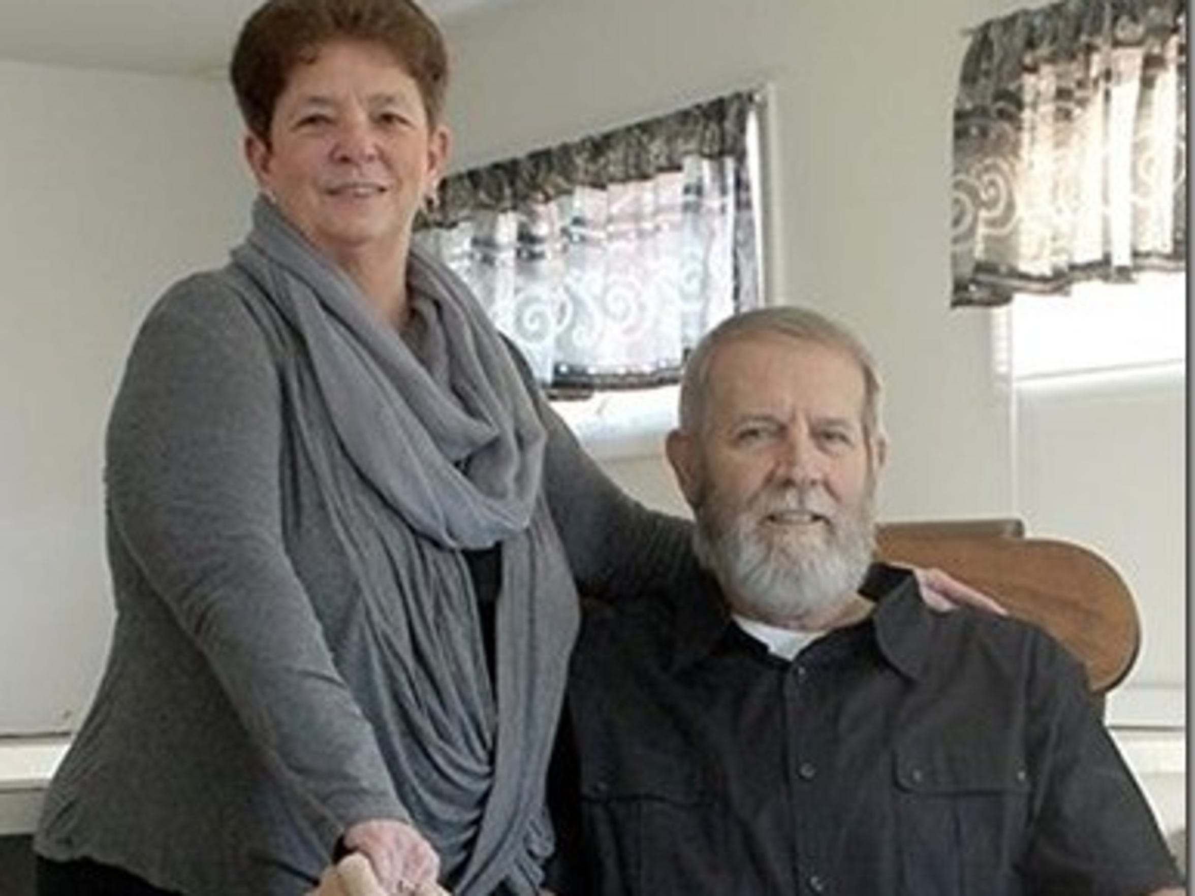 Jerry and Debbie Mossman, who have been a couple for 48 years, have been together through sickness and health.