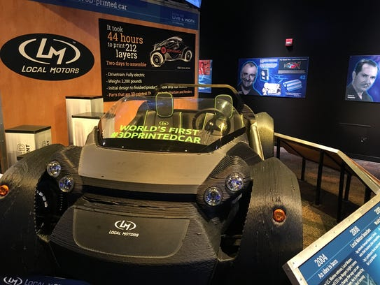 The world's first 3D-printed car by Phoenix-based Local