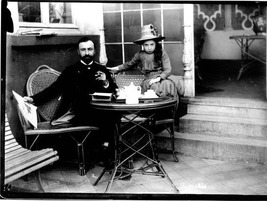 Leo H. Baekeland (left) was the inventor of  plastic.