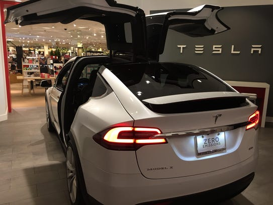 Tesla Motors Inc. has opened a Tesla Gallery in the