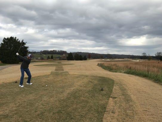 Former University of Tennessee golfer David Holmes