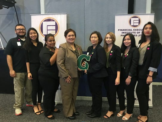 Two teams from the University of Guam competed in the