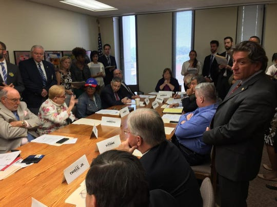 Assembly members discuss the East Ramapo oversight