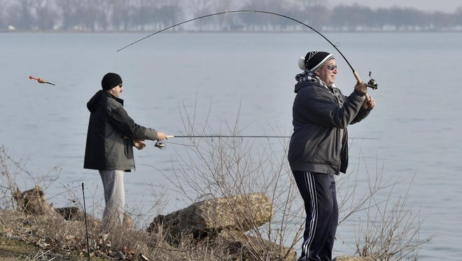 The state Department of Natural Resources says you can fish for free in any of the state's waters Saturday and Sunday.