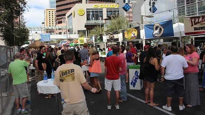 10/1: Bites 'N Brews Craft Beer Festival | Twenty-plus breweries will be on hand for this year's Bites 'N Brews Craft Beer Festival at the Peoria Sports Complex. Enjoy samples of some of the tastiest local and national craft beers and satisfy your appetite with eats from 27-plus food trucks. | Details: 4-10 p.m. Saturday, Oct. 1. Peoria Sports Complex, 16101 N. 83rd Ave., Peoria. $30-$60. bitesbrews.com.