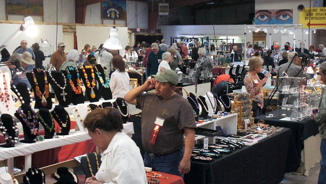 The Rockhound Roundup draws close to 10,000 visitors during the second weekend in March, as hosted by the Deming Gem & Mineral Society. This year's Roundup is slated for March 10-13, at the Southwestern New Mexico State Fairgrounds.