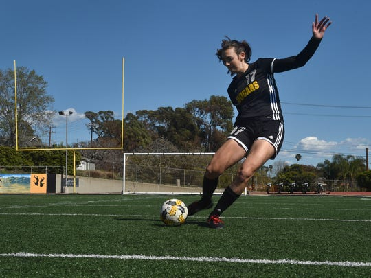 Peyton Erickson will take her considerable talents to USC after starring on the soccer field and in the classroom at Ventura High.