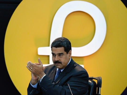 FILES-VENEZUELA-US-CRYPTOCURRENCY-SANCTION