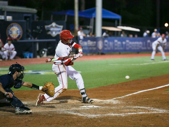 The Ragin' Cajuns baseball team was eliminated from