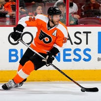 Flyers defenseman Mark Streit has found himself in a new role since the emergence of Shayne Gostisbehere.