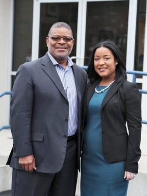 US&S, Inc. CEO & President S. Richard Hagins and Euleta Alston, Business Development Manager.
