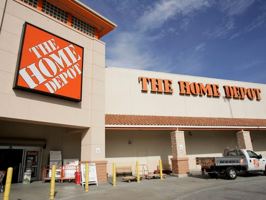 Surging home sales boost home depot earnings for Home depot two story house