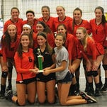 The Northville girls volleyball team opened its 2016 season by winning the Lake Orion tournament.