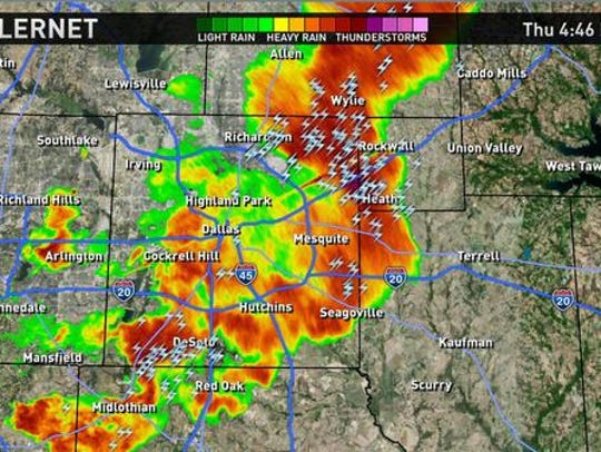 Wrap Up Severe Weather Whips North Texas