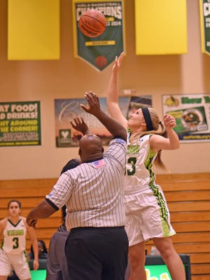 Viera's Kaitlyn Jenson (33) was voted FLORIDA TODAY's high School Athlete of the Week.