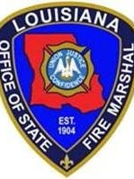 La. State Fire Marshall badge