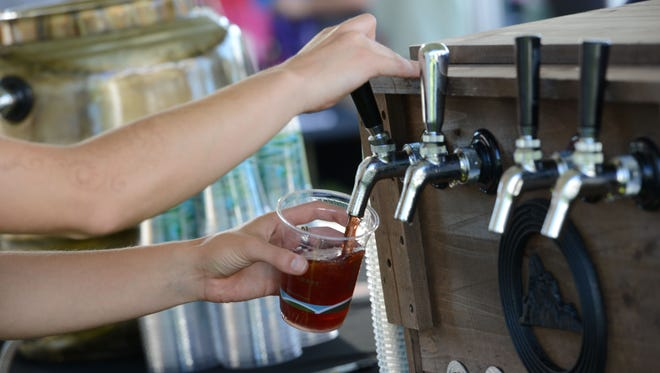 Local beer is on the menu at the Salem Winter Brewfest this weekend.