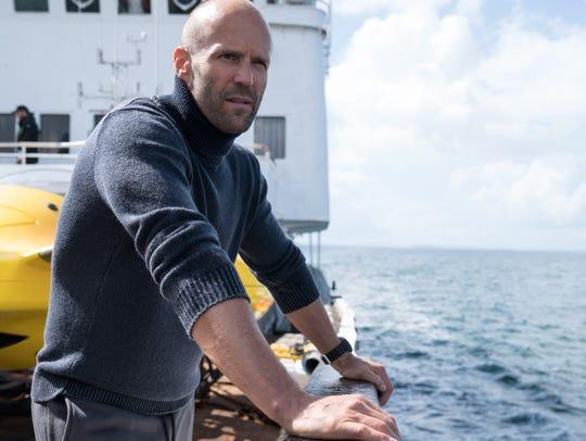 "Jason Statham stars in ""The Meg."""