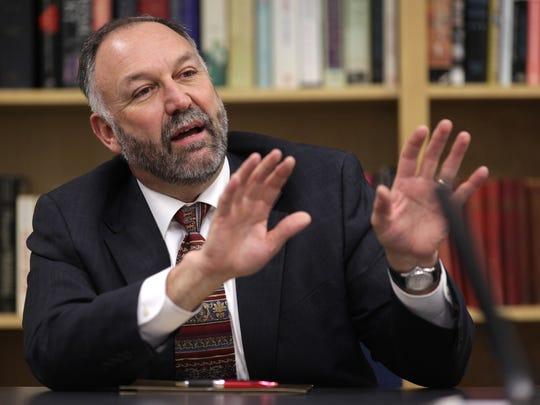 New Iowa State University President Steven Leath talks