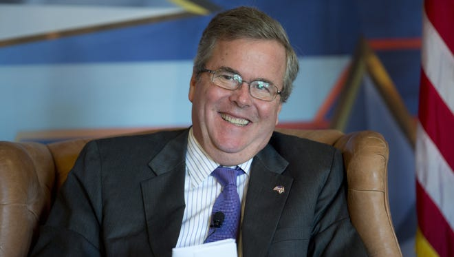 Former Florida governor Jeb Bush is a leading GOP voice on immigration policy.