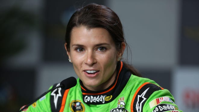 While Go Daddy will remain her primary sponsor, Aspen Dental will sponsor Danica Patrick, above, for two races next season.