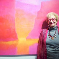 50 years of color: Exhibit honors longtime artist