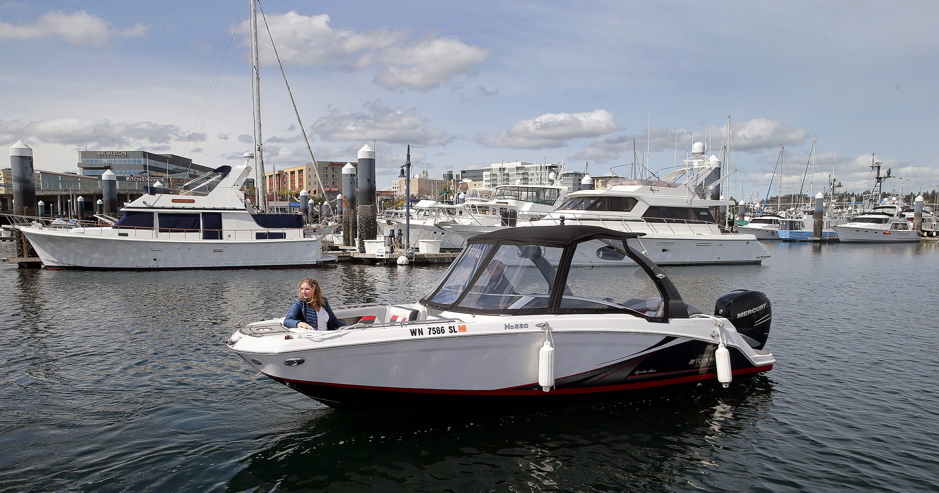 Bremerton boat share offers boating without the hassle