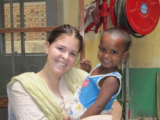 Kayla Mueller volunteered at Food for Life Vrindavan in 2010. According to the group's website, Food for Life Vrindavan is a humanitarian aid organization that for the last 10 years has worked in the poorest villages in the Vrindavan area south of New Delhi.