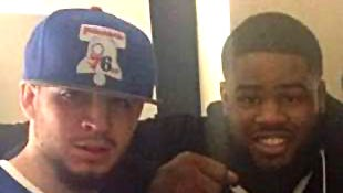 Homicide victims Pablo Caban (left) and Delshawn Harris.