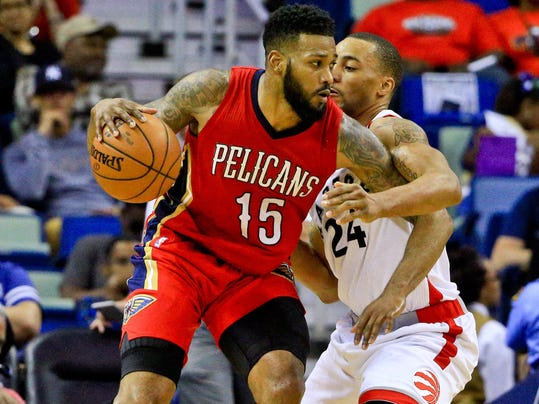 NBA: Toronto Raptors at New Orleans Pelicans