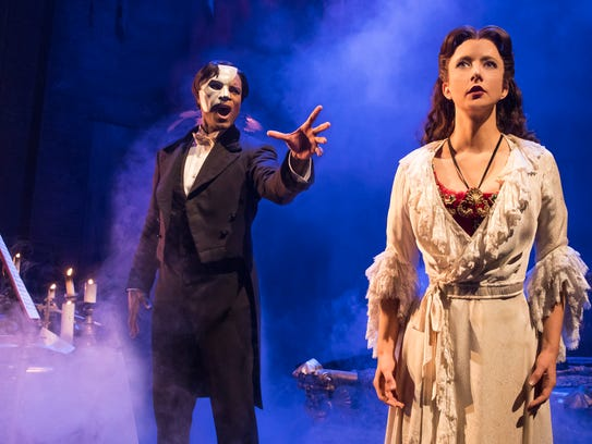 "Andrew Lloyd Webber's ""The Phantom of the Opera"" begins"