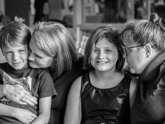 Gretchen Haley and Carri Ratazzi have been married 3 times over their 17 years together. they have dedicated themselves to creating a firm foundation for their family.