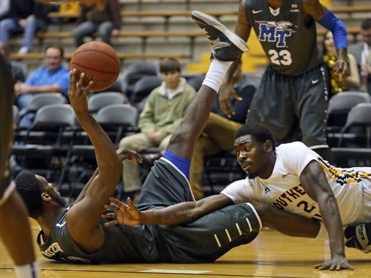 NCAA Basketball: Middle Tennessee State at Southern Mississippi