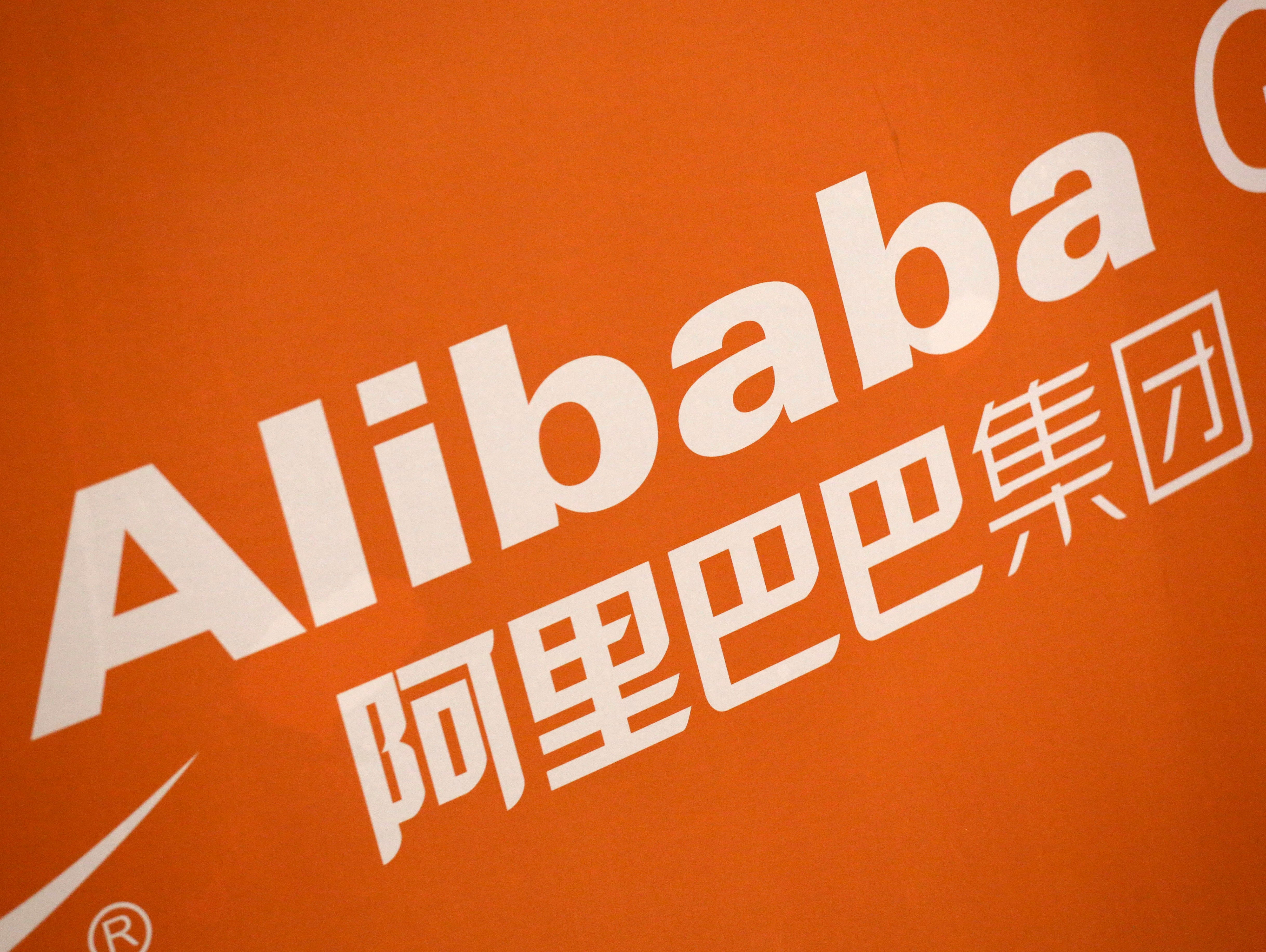 Alibaba stock hits new low