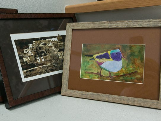 """Among works featured in """"Artistry of a Mesilla Valley"""