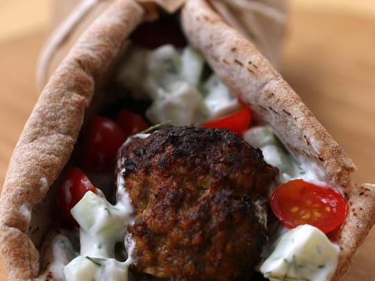 Pitas wrap kofta, a flavorful meatball found in the Middle East, Central Asia and India.