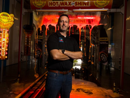 Troy Montpetit, the owner of Downtowner Car Wash with