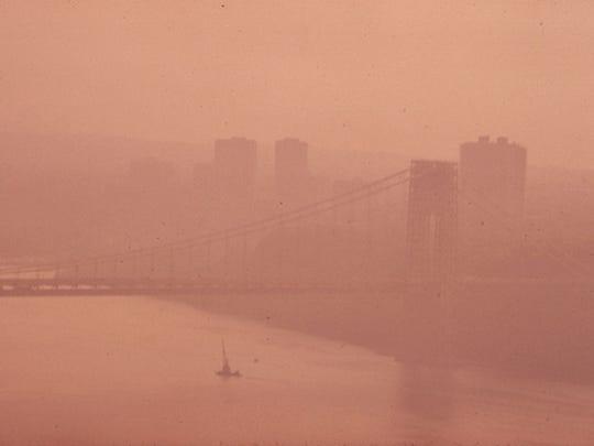 Haze over the Hudson