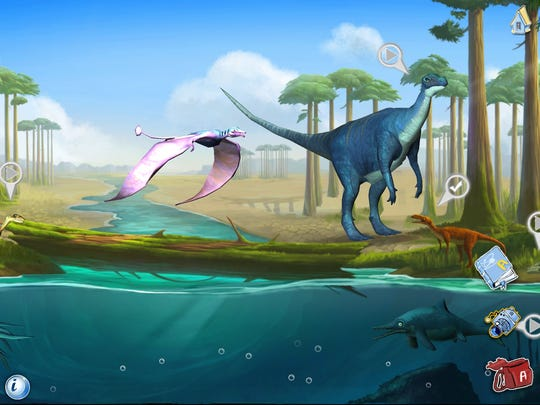 ansel and clair triassic dinosaurs