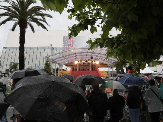 Bad Weather at Cannes