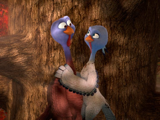 Sneak Peek: Wilson and Poehler as 'Free Birds'