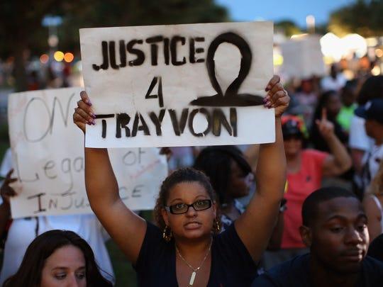 trayvon supports