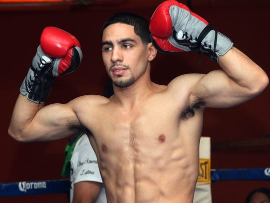 Danny Garcia workout