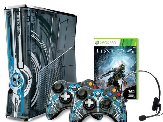 Xbox Halo 4 package