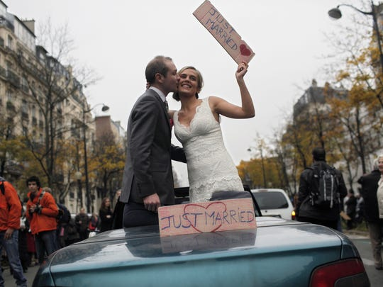 France protest gay marriage