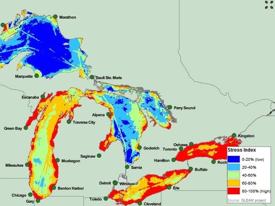 great lakes map 121812